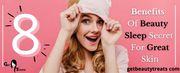 8 Benefits Of Beauty Sleep Secret for glowing skin || GetBeautyTreats